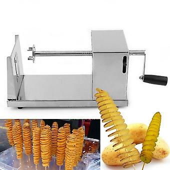 Stainless Steel Manual Twisted Potato Slicer