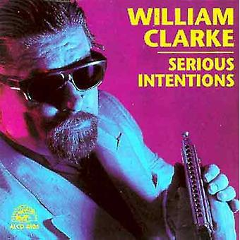 William Clarke - importación de USA de intenciones serias [CD]