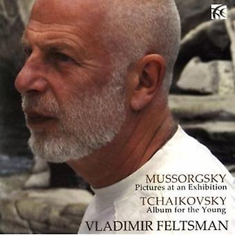 Moussorgski - Moussorgski: Tableaux d'une exposition; Tchaïkovski: Album pour la jeune USA [CD] importer