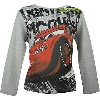 Boys Disney Cars Lightning McQueen HO1564 Long Sleeve Top