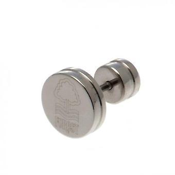 Nottingham Forest Stainless Steel Stud Earring