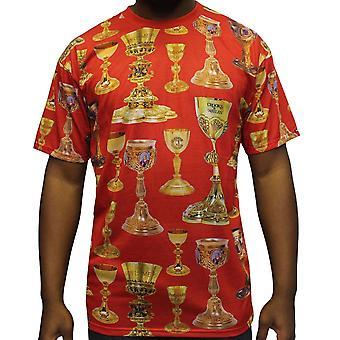 Crooks & Castles High Power T-Shirt Red Multi