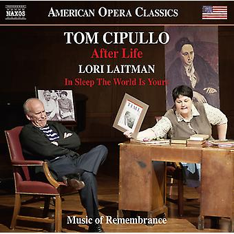 Cipullo / Koch / Music of Remembrance / Miller - After Life - Lori Laitman: schlafen In der Welt ist [CD] USA importieren