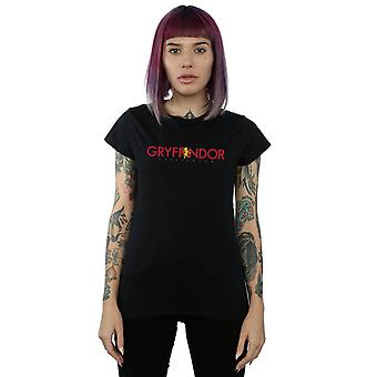 Harry Gryffindor texto t-shirt Potter mujeres