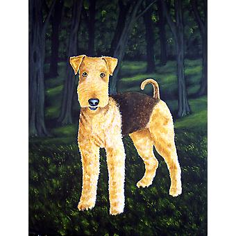 Carolines Treasures  AMB1188CHF Delta Airedale Terrier Flag Canvas House Size
