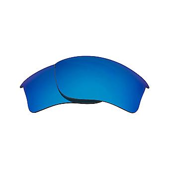 Replacement Lenses for Oakley Quarter Jacket Sunglasses Blue Mirror Anti-Scratch Anti-Glare UV400 by SeekOptics