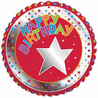 Creative Party Happy Birthday Milestone Balloon
