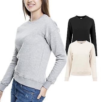 Urban classics ladies - BASIC SWEAT fleece crewneck sweater