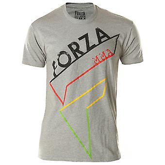 "Forza sport ""Pictogram"" MMA T-Shirt-Heather grijs"