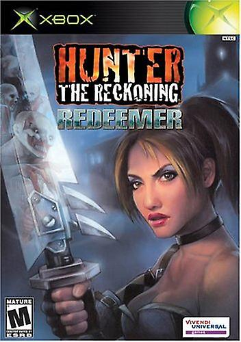 Hunter The Reckoning - Redeemer (Xbox) - Factory Sealed