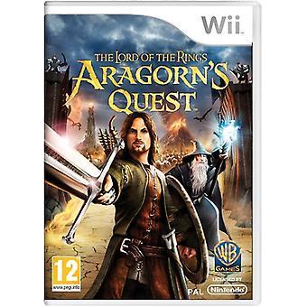 Lord van de ringen Aragorns Quest (Wii)-fabriek verzegeld
