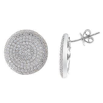 Orphelia Silver 925 Earring Micro Pavee Zirc  ZO-5794