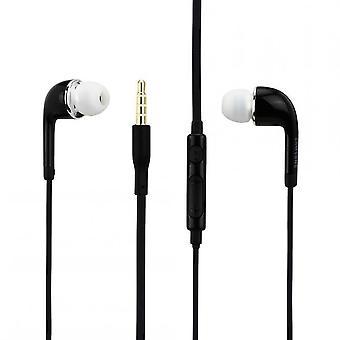 الأصلي EO-EG900B سماعة سامسونج InEar باللونين الأبيض والأسود للهاتف الذكي مع مقبس 3.5 مم