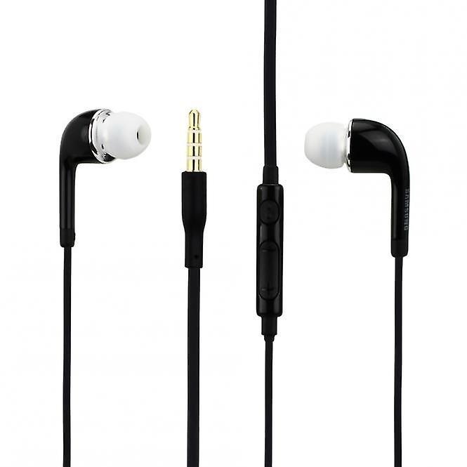 Original EO-EG900B Samsung InEar headset in black and white Samsung Galaxy S6 S5 S4 S2
