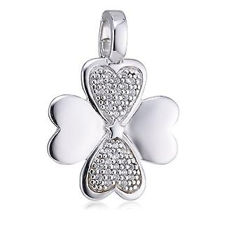 s.Oliver juvel damer vedhæng charm sølv fire - blade kløver SO598/01 - 378888