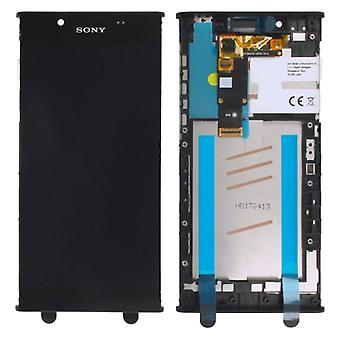 Sony display LCD complete unit with frame for Xperia L1 G3311 G3312 G3313 black spare parts