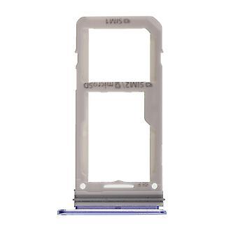 För Samsung Galaxy S8 - Blue S8 Plus -simkortshållare-