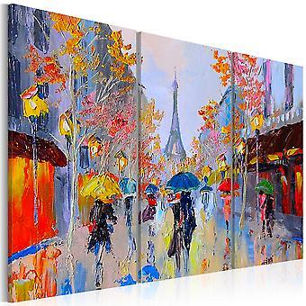 Vászon nyomtatás-esős Párizs