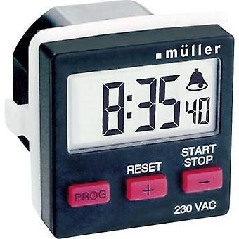 Müller TC 14.21 Count-Down-Timer digital 230 V AC 8 A/230 V