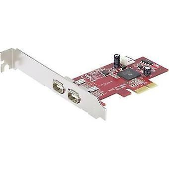 Renkforce 2 ports FireWire 400 controller card PCIe