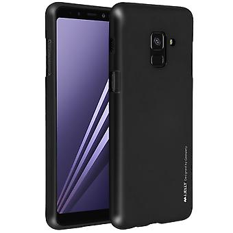 iJelly Goospery Soft Touch TPU case for Samsung Galaxy A8 2018 - Black