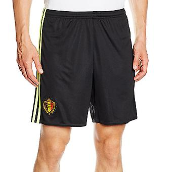 adidas Performance Belgium 2016-17 Football Soccer Kids Home Kit Shorts - 13-14Y