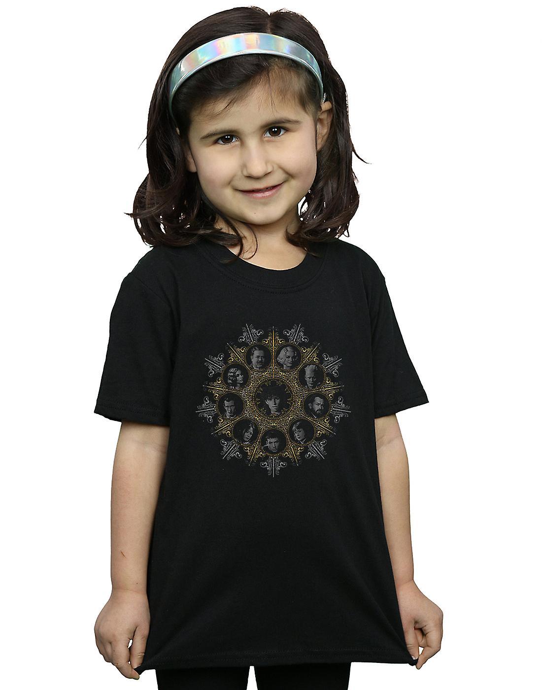 Fantastic Beasts Girls Character Crest T-Shirt