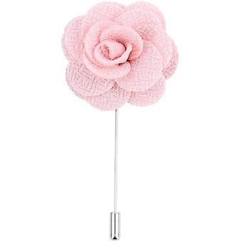 David Van Hagen Flower Lapel Pin - Pink