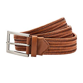 Asquith & Fox Mens Leather Braid Belt