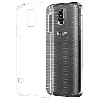 Snap-on shell Samsung Galaxy S5/S5 NEO dun doorschijnend