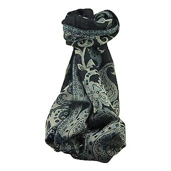 Muffler Scarf 8123 in Fine Pashmina Wool Heritage Range by Pashmina & Silk