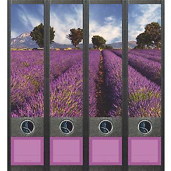 Spine Label Lavender Field