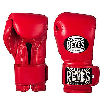 Cleto Reyes Velcro bokshandschoenen rood