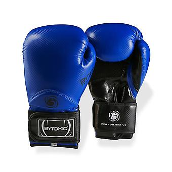 Ejecutante bytomic V4 guantes de boxeo azul