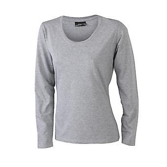 James and Nicholson Womens/Ladies Medium Long-Sleeved T-Shirt