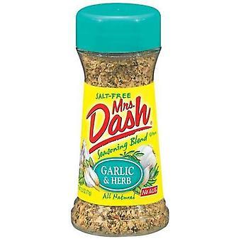 Mrs Dash aglio & Herb Salt-Free condimento miscela 2 bottiglia Pack