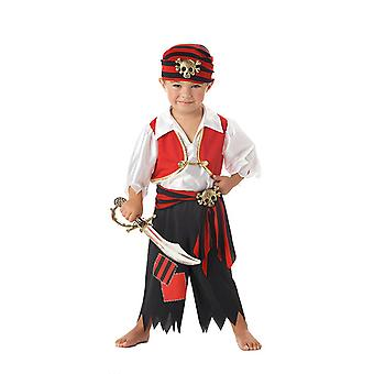 Ahoy Matey Pirate Captain Hook Caribbean Toddler Book Week Boys Costume