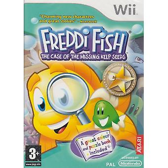 Freddi Fish 1 Case Of The Missing Kelp Seeds (Wii) - Nouveau