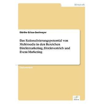Das Rationalisierungspotential von multimedier i den Bereichen Direktmarketing Direktvertrieb und EventMarketing af GrisseSeelmeyer & Drthe