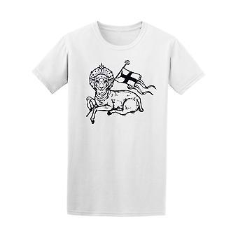 神の子羊キリスト教シンボル t シャツ メンズ-シャッターによる画像