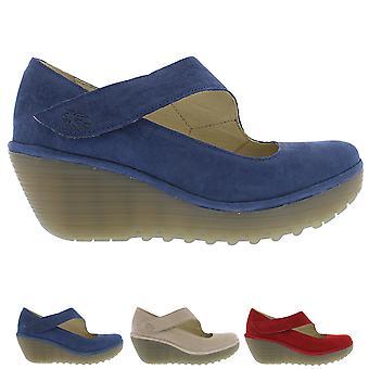 Naisten Fly London Anssi Cupido suljettu Toe työ Office kiila kantapää kengät