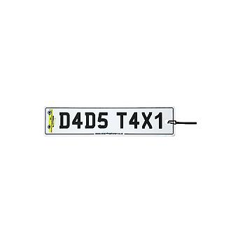 Papas Taxi Nummernschild Auto-Lufterfrischer