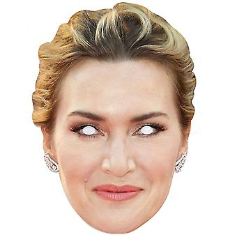 Kate Winslet Celebrity Single 2D Card Party Masque