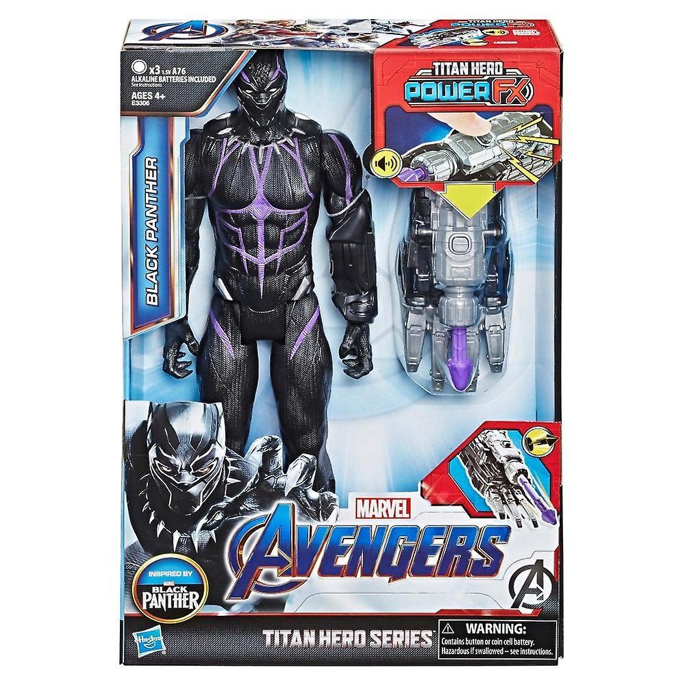 Marvel Avengers Black Panther slutspel Titan Hero Power FX 12 tums Action figur