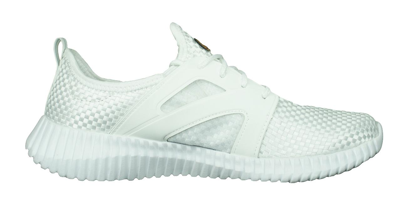 Skechers Social Muse Arm Candy Womens Trainers Comfort Shoes - White