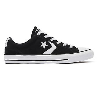 Converse Star Player Mens Black / White Ox Trainers