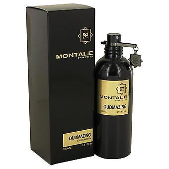 Montale oudmazing eau de parfum spray by montale 539172 100 ml