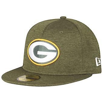 New Era 59Fifty SHADOW TECH Cap - Green Bay Packers oliv