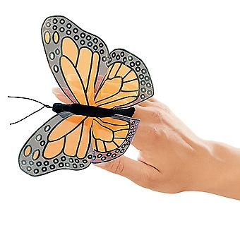 Finger Puppet - Folkmanis - Mini Butterfly Monarch New Animals Doll Plush 2156