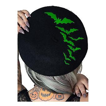 Kreepsville 666 bat toista vihreä baskeri hattu